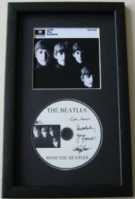 THE BEATLES - With The Beatles CD Disc MEMORABILIA presentation